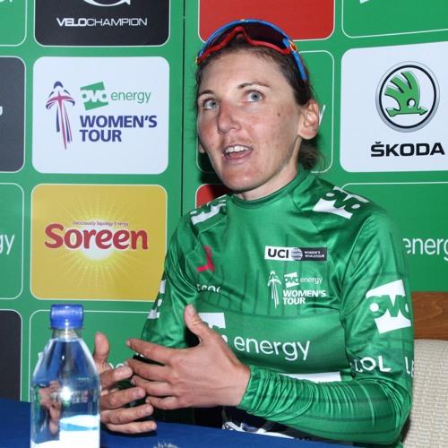 Interview - Lisa Brennauer OVO Women's Tour Green Jersey Stage 3