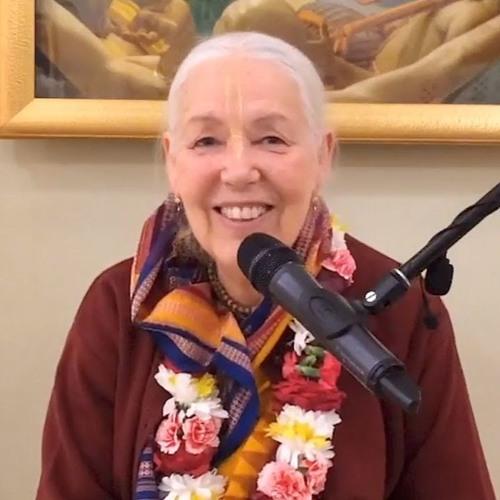 Śrīmad Bhāgavatam class on Thu 13th June 2019 by Her Grace Jagattarini Devi Dasi 1.5.33