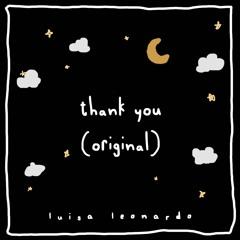 Thank You (original)
