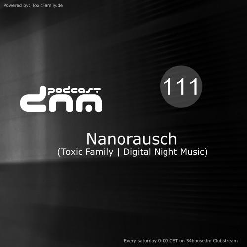 Digital Night Music Podcast 111 mixed by Nanorausch