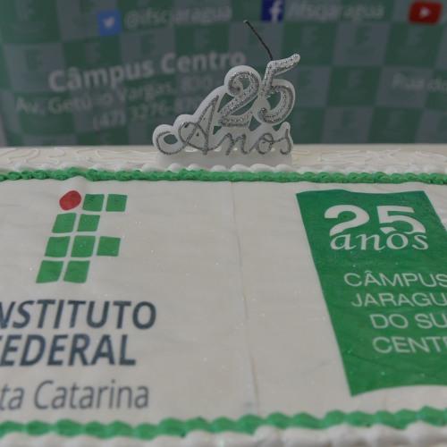 IFSCnaComunidade #111 vagas abertas, aniversário 25 anos IFSC em Jaraguá do Sul