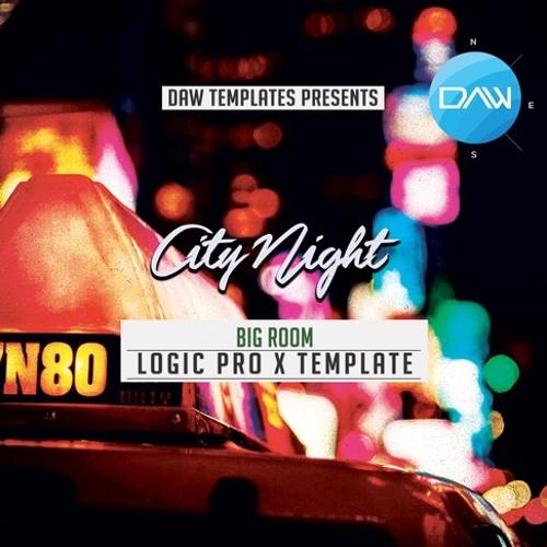 City Night Logic Pro X Template