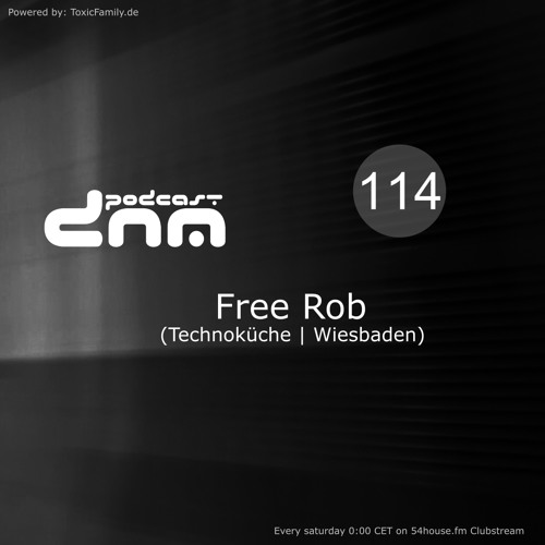 Digital Night Music Podcast 114 mixed by Free Rob