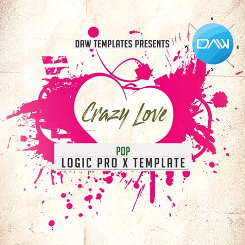 Crazy Love Logic Pro X Template