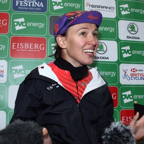 Interview - Kasia Niewiadoma - Stage 4 Winner - OVO Women's Tour 2019