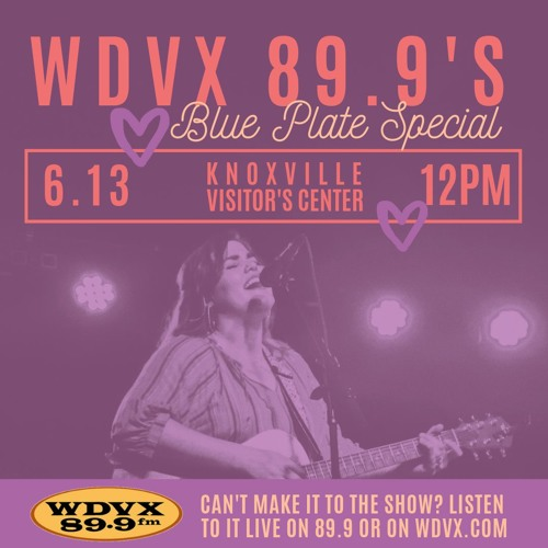 Interview on WDVX 89.9's Blue Plate Special