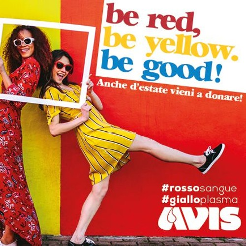 Be red, be yellow, be good!