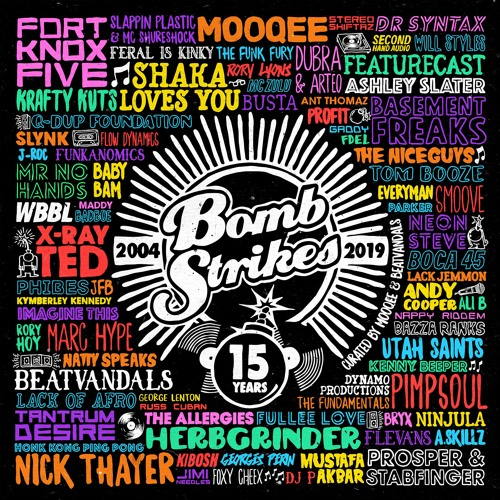 VA - Bombstrikes 15 Years (Curated By Mooqee & Beatvandals) [LP] 2019