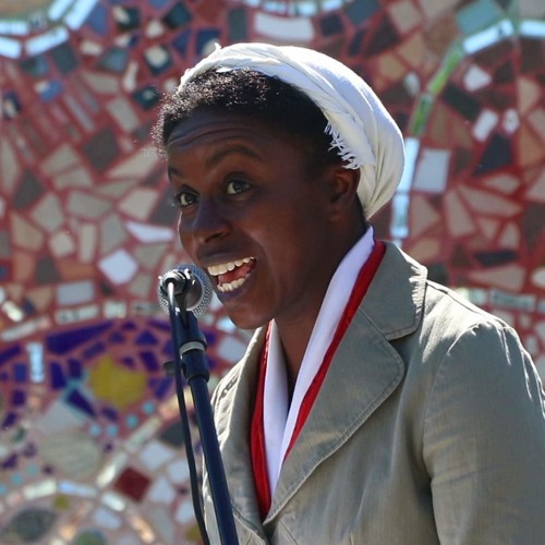 D. Colin as Sojourner Truth at Freedom Festival