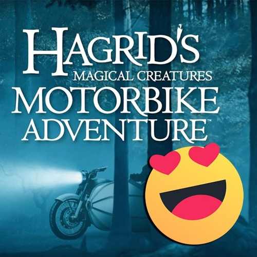 Hagrid likes Adventures on his Motorbike