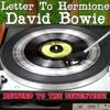 Frank Sapo presenta A Letter To Hermione de David Bowie Portada del disco