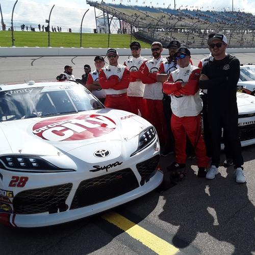 Iowa Speedway first lap
