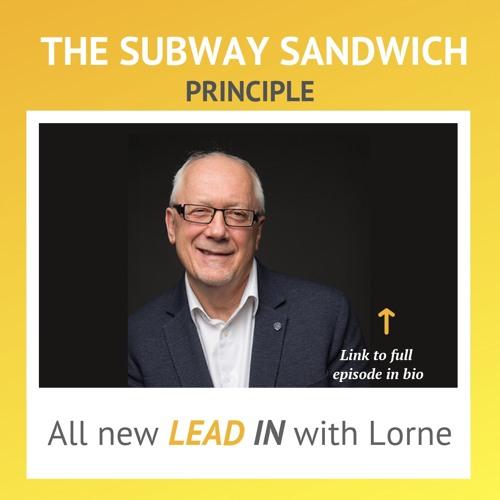 The Subway Sandwich Principle