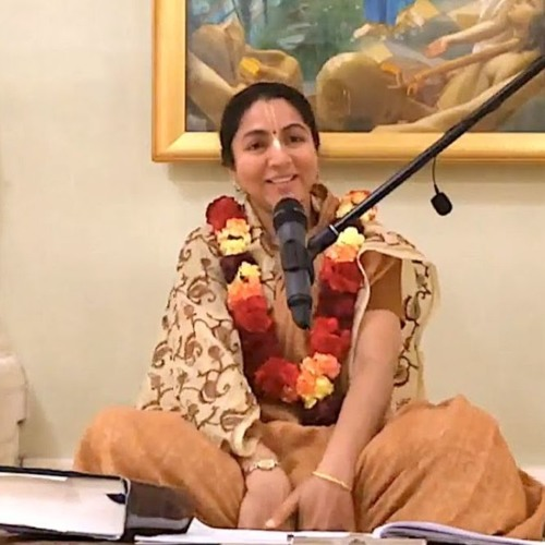 Śrīmad Bhāgavatam class on Mon 17th June 2019 by Pritilakshana Devi Dāsi 4.22.61-62