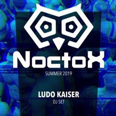 Ludo Kaiser NoctoX DJ set Pride Madrid Summer 2019