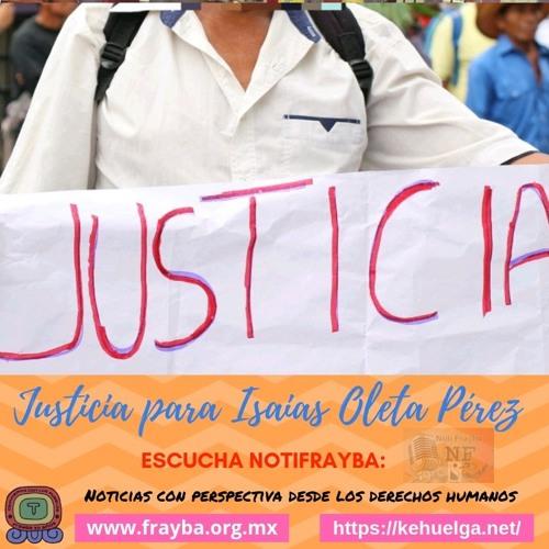 NotiFrayba: Justicia Isaias Oleta Perez