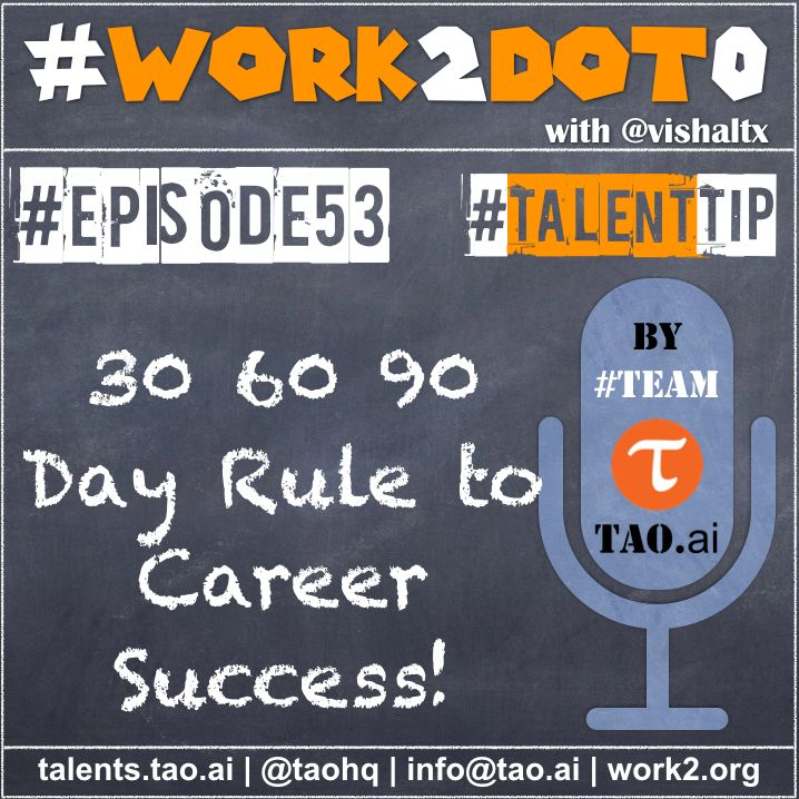 30 60 90 Day Rule for Career Success – Work 2 0 | Discussing