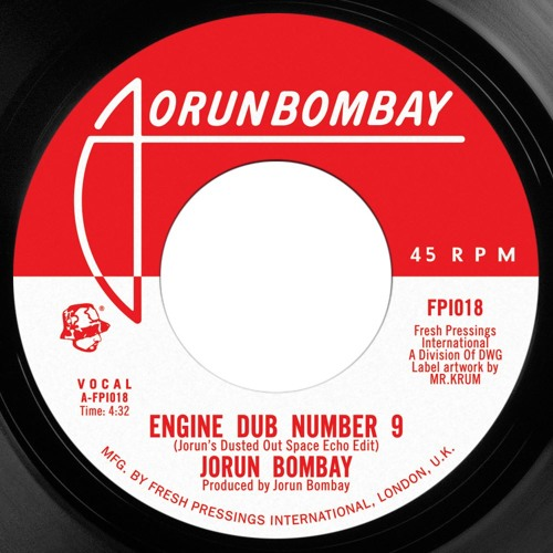 "Jorun Bombay 'Engine Dub No 9'/'Opening Act' ft Emskee 7"" snippets"