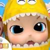 Baby Dino Dino Party | Dinosaur Song | Little Angel Nursery Rhymes