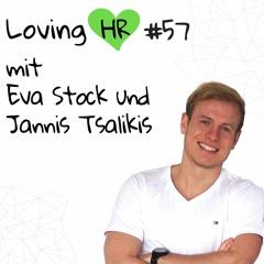 LHR #57: HR True Story mit Eva Stock und Jannis Tsalikis