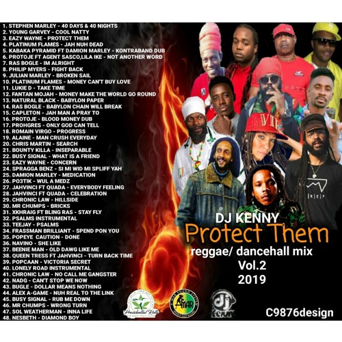 DJ KENNY PROTECT THEM REGGAEDANCEHALL MIX VOL 2 2019 by A-mar Sound