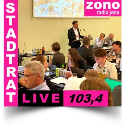 Hörfunkliveübertragung der 1. Sitzung des Stadtrates der Stadt Jena am 19.06.2019