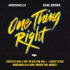 Marshmello X Kane Brown One Thing Right Cover Mp3