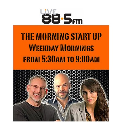 Blue Roses: LIVE 88.5FM Morning Start Up Program Interview with Bob Jamison & Ed Kucerak