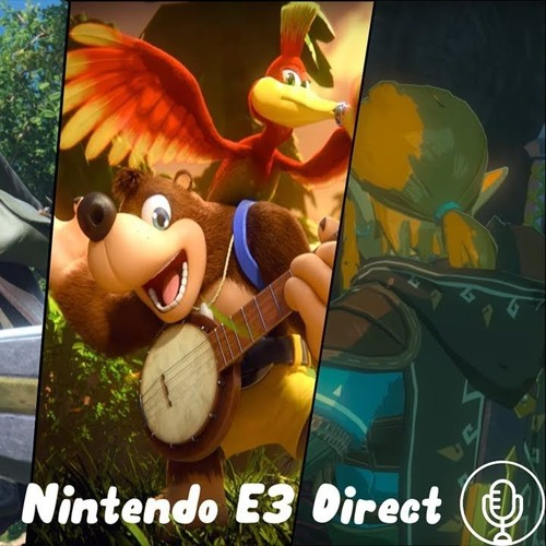 Our Reactions To Nintendo E3 Direct | ft. Novaer, Nevercry, DunDiddley, AustinAnimations