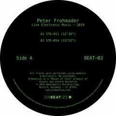 A2 - STE-054 excerpt (from Peter Frohmader - Live Electronic Music BEAT-03)