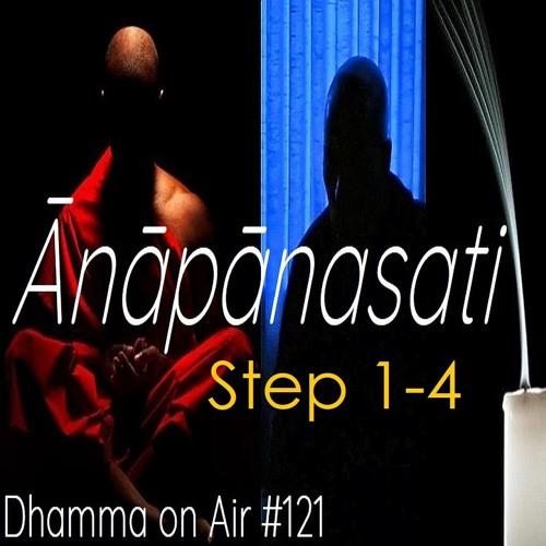 Guided Ānāpānasati Breathing Meditation steps 1-4