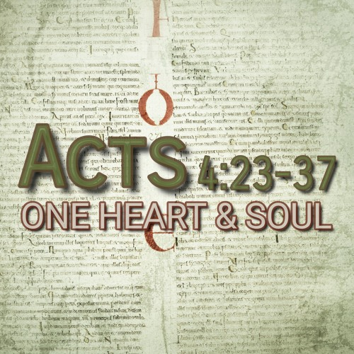 Acts 4:23-37 (preacher: Keith Cooper)