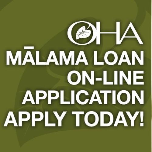 OHA Malama Loans ON KONG FM 93.5