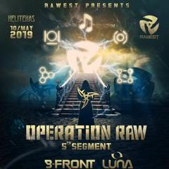 Event AV Production - Operation Raw 2019 Luna