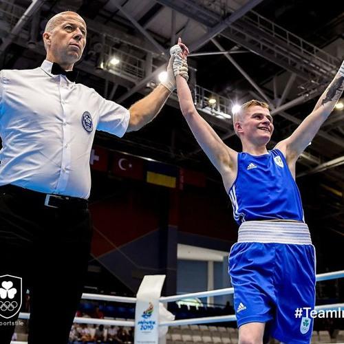 BOXING: Regan Buckley guaranteed a medal after super showing in quarter final