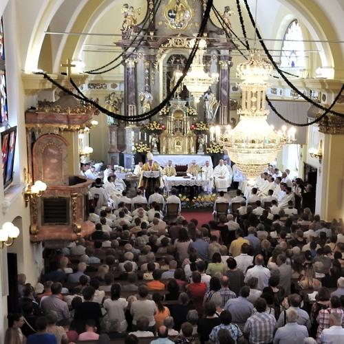 Prisluhni sveti maši z diakonskim posvečenjem v Šentvidu pri Stični