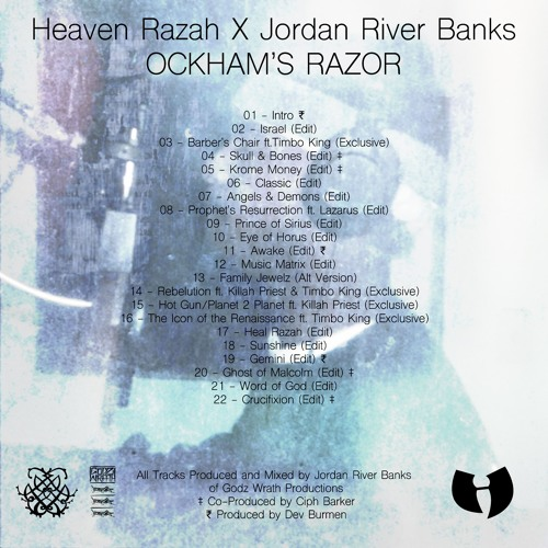 Heaven Razah - Krome Money (Prod. Jordan River Banks & Ciph Barker)