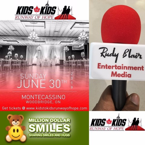 Chat w Helen Antonopoulo on the 1st Annaul Kids T.O. Kids Runway of Hope Fashion Show