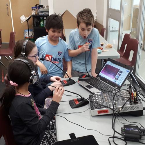 Ateliers radio - École Allain St-Cyr - Pilote