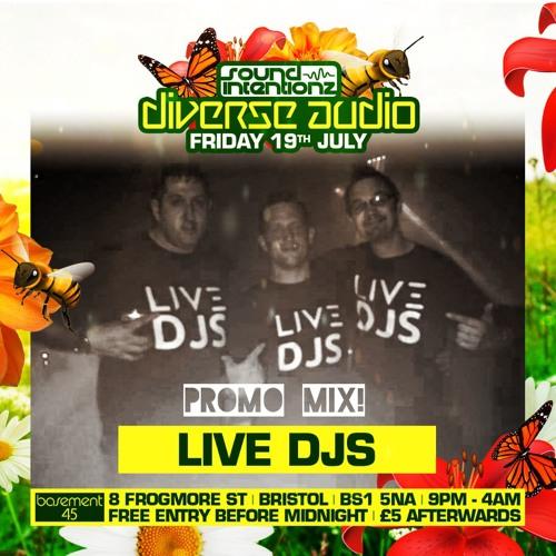 Live DJ's - DIVERSE AUDIO PROMO MIX