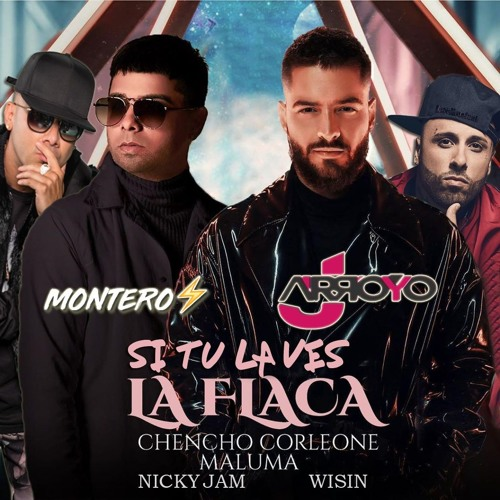 Nicky Jam,Wisin x Maluma,Chencho Corleone - Si Tu La Ves x La Flaca (M O N T E R O & JArroyo Mashup)