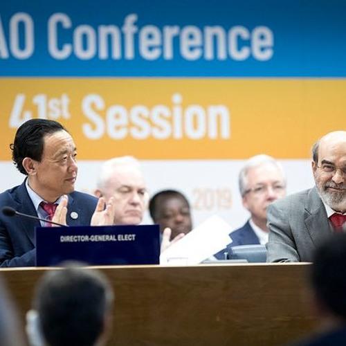 Director-General José Graziano da Silva closes the 41st FAO Conference