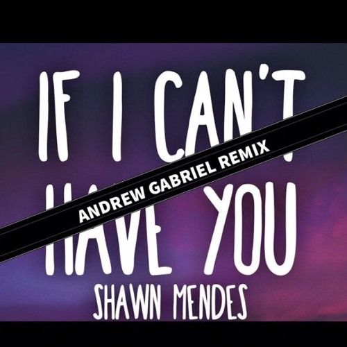 Shawn Mendes - If I Can't Have You (Andrew Gabriel Remix)