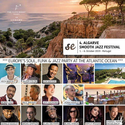 Smooth Entertainment presents The Algarve Smooth Jazz Festival 2019