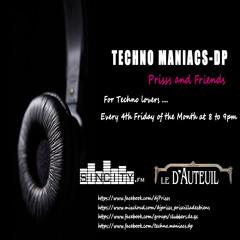 Dj Prisss-Techno Maniacs-dp005