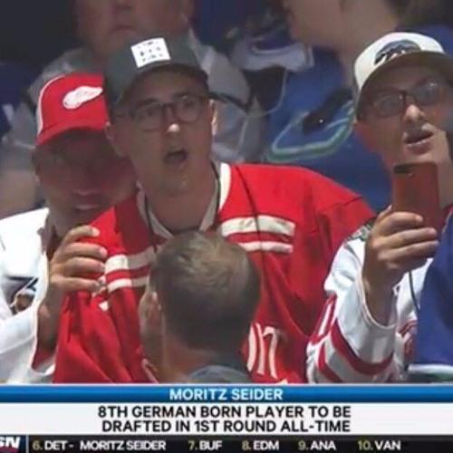 Moritz Seider, der Draft, die Red Wings und entglittene Gesichtszüge - Eiszeit FM goes America 02