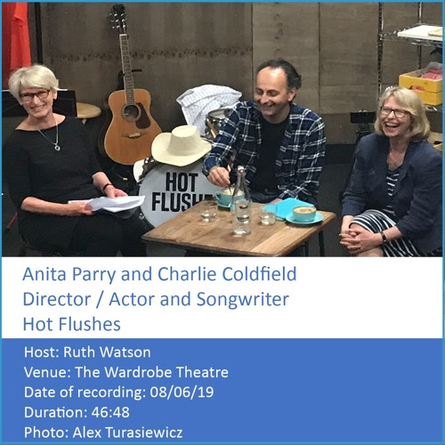 In Conversation: Anita Parry (Director) & Charlie Coldfield (Actor & Songwriter)