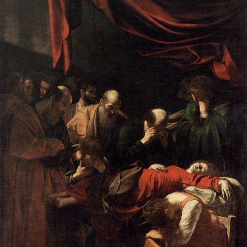 #3 La muerte de la Virgen de Caravaggio