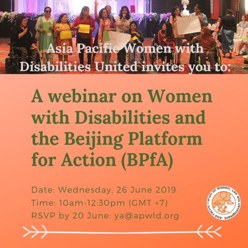Survey on Women With Disabilities