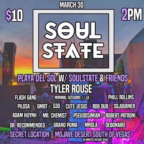 Playa Del Sol w/ Soul State 3.30.19